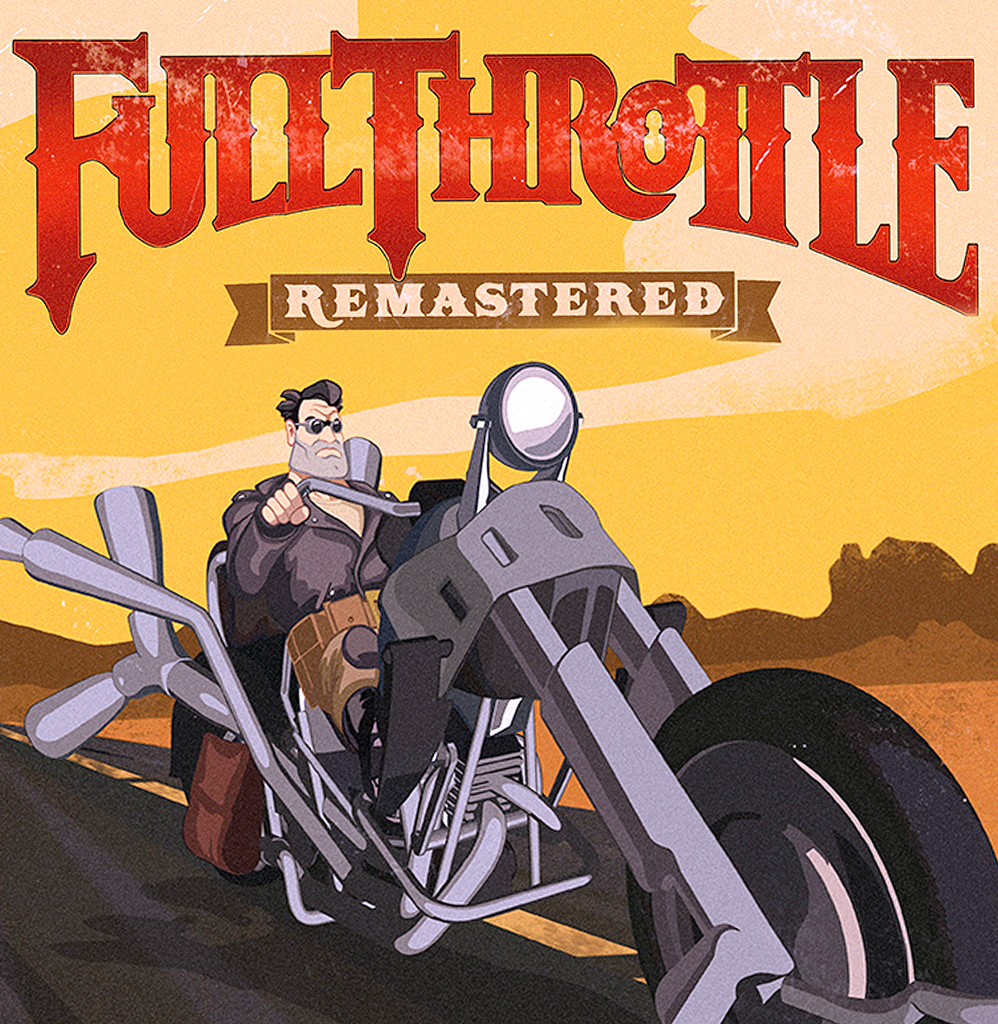Full Throttle: Remastered Cover