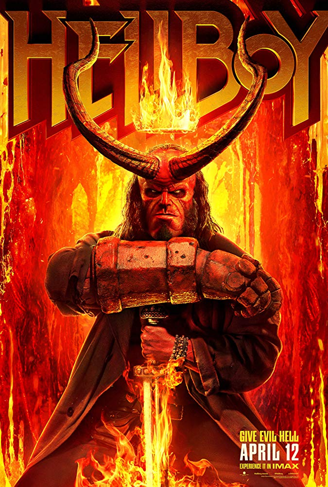 Hellboy (2019) Cover