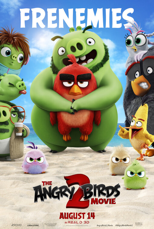 The Angry Birds Movie 2 Cover