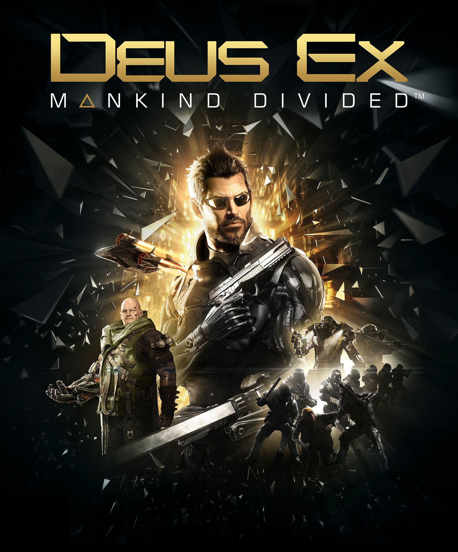 Deus Ex: Humankind Diveded Cover