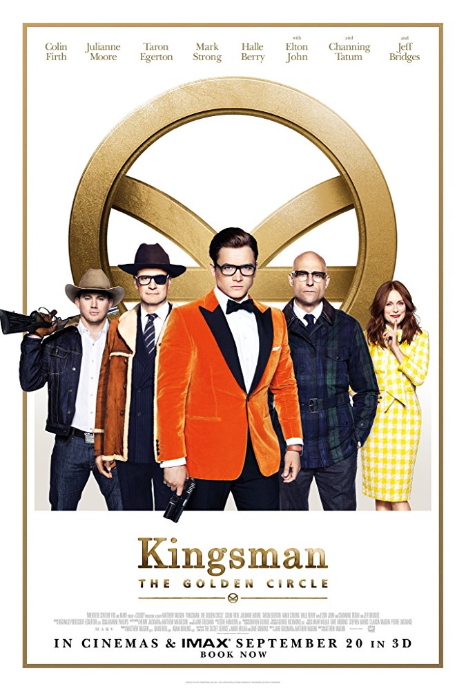 Kingsman: The Golden Circle Cover