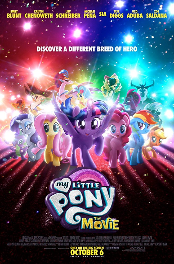 My Little Pony: The Movie Cover