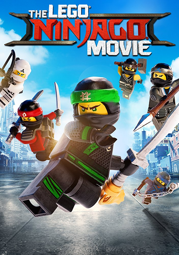 The LEGO Ninjago Movie Cover