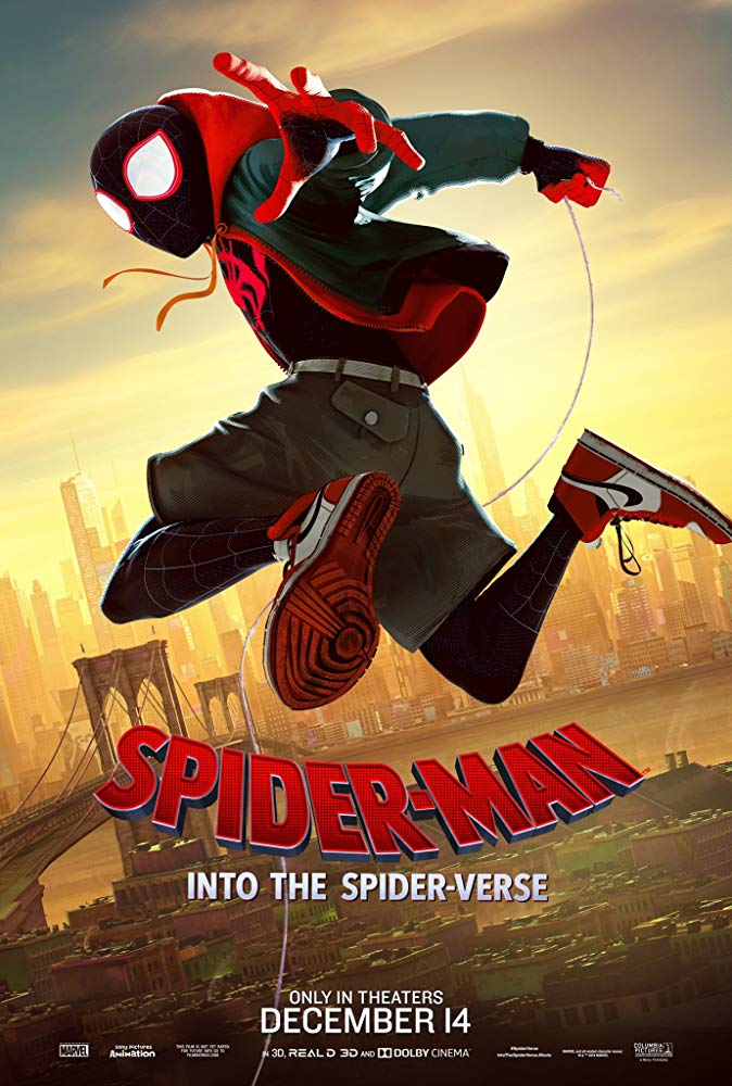 Spider-Man: Into the Spider-Verse Cover