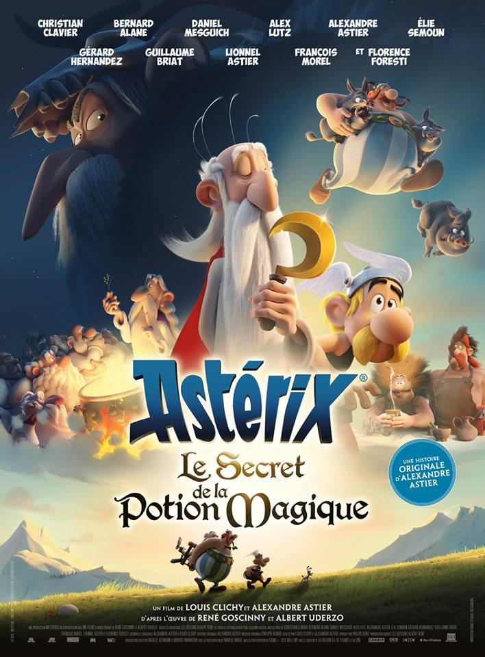 Astérix: Le secret de la potion magique Cover